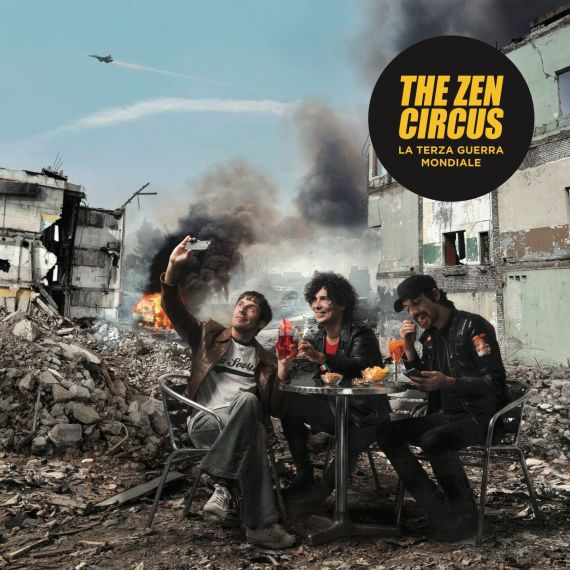 ZEN CIRCUS COVER CD_ la terza guerra mondiale